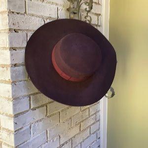 H&M 100% wool brown hat